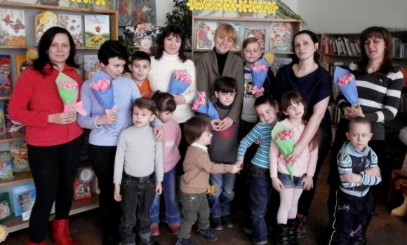 Майстер-клас «Квітковий  подарунок для мамусі та бабусі»