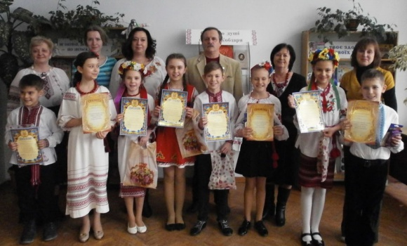 Переможці конкурсу читців-декламаторів «Тараса думки будуть жити віки»