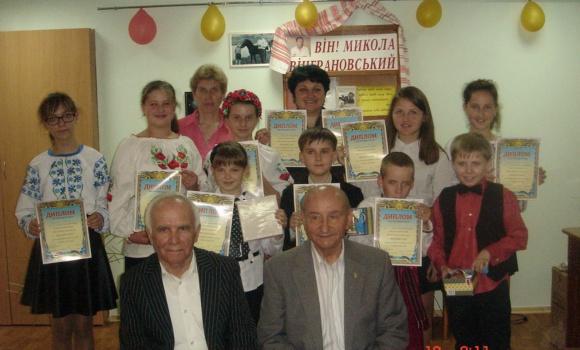Переможці конкурсу читців М.Вінграновського  «Маєстат слова»